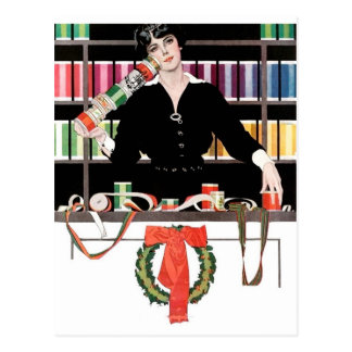 Gift Wrapping Department Postcard