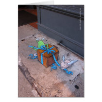 Gift-wrapping Sluggo Card