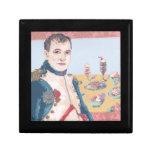 Giftbox francés de la teja del postre de Napoleon Caja De Regalo