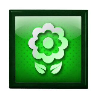 Giftbox icon green ecologic icon jewelry box