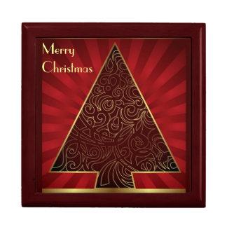 Giftbox Merry Christmas Jewelry Box