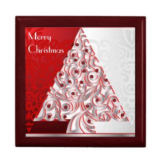Giftbox Merry Christmas Trinket Boxes