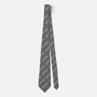 Gifted concept. tie