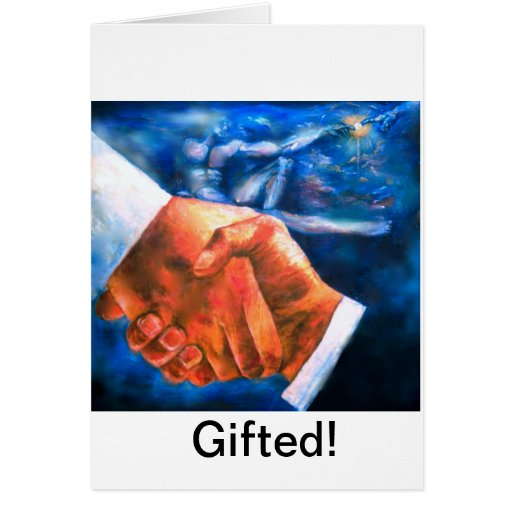 Gifted. Greeting Card