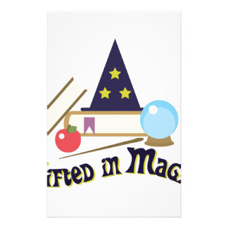 Gifted Magic Stationery