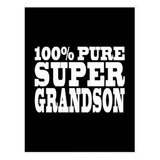 Gifts 4 Grandsons : 100% Pure Super Grandson Postcard