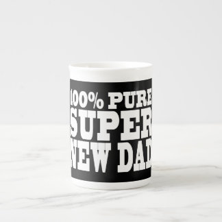 Gifts 4 New Dads : 100% Pure Super New Dad Tea Cup