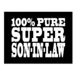 Gifts 4 Sons in Law : 100% Pure Super Son in Law Postcard