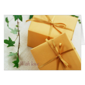 Gifts amongst the Ivy Card