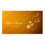 Gifts and Flowers Shop Business Card