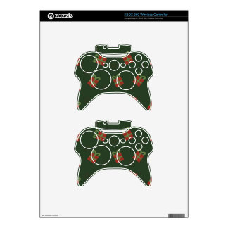 Gifts and stars pattern xbox 360 controller decal