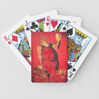 Gifts Announcement Vintage Beer RetroCharms Bicycle Playing Cards