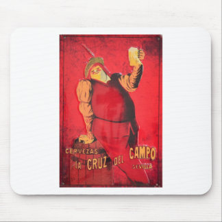 Gifts Announcement Vintage Beer RetroCharms Mouse Pad