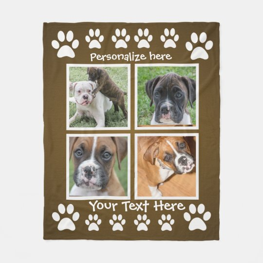 sc 1 st  Zazzle & Gifts for a Dog Lover - Custom Photo Blankets | Zazzle.com