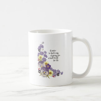 Gifts for a sister classic white coffee mug