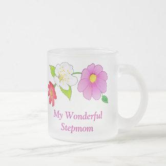 Gifts for a Stepmom Pretty Hawaiian Flower on Mug