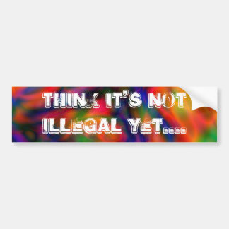 Gifts for All Car Bumper Sticker