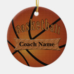 Gifts for Basketball Coach Ideas Christmas Tree Ornament
