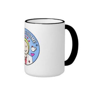 Gifts for Blond and Celestial Doctor Take care of  Ringer Mug