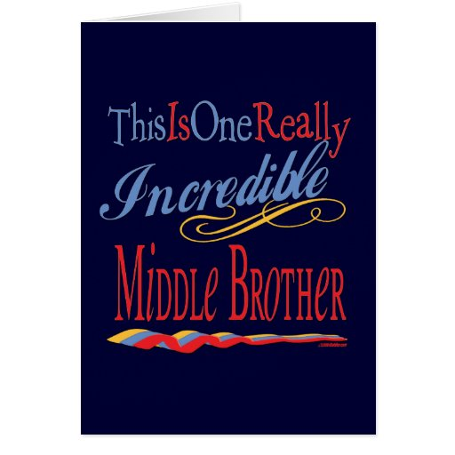 Gifts For Brothers Greeting Card