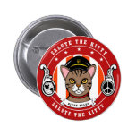 Gifts for Cat lovers 2 Inch Round Button