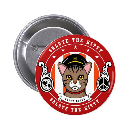Gifts for Cat lovers Pinback Button