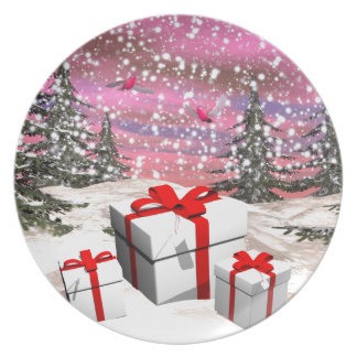 Gifts for Christmas Dinner Plate