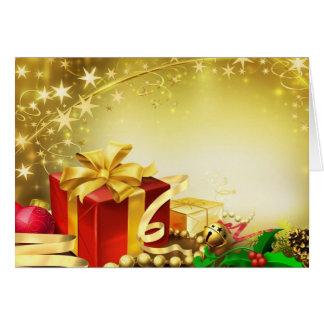 Gifts for Christmas - Tarjetón