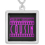 Gifts for Cousins : World's Greatest Cousin Personalized Necklace