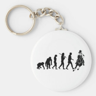 Gifts for cowgirls and ranchers basic round button keychain