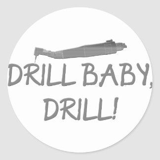 Gifts for Dentists & Dental School Grads Classic Round Sticker