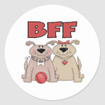 Gifts For Dog Lover Round Stickers