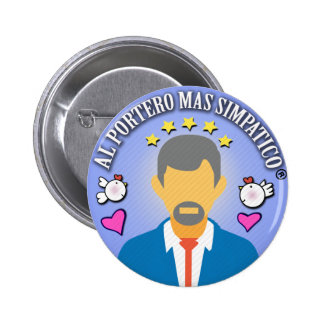 Gifts for Doormen and Managers Pinback Button