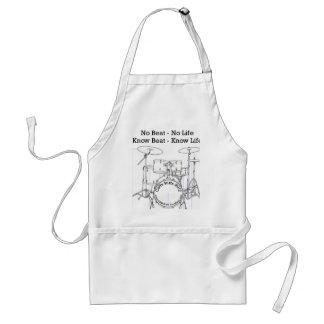 Gifts for Drummers, Musicians, and Dancers Adult Apron
