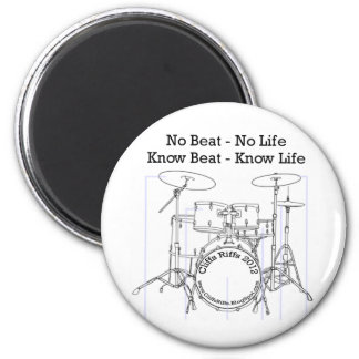 Gifts for Drummers, Musicians, and Dancers Magnet