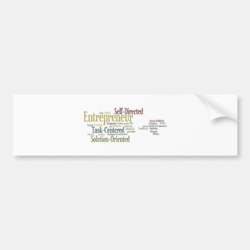 Gifts For Entrepreneurs Bumper Sticker
