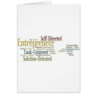 Gifts For Entrepreneurs Card