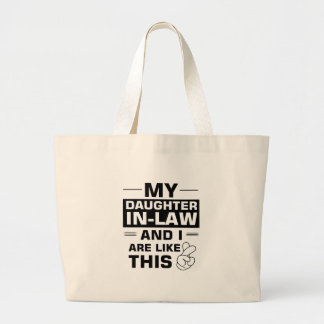 Gifts for Father in-law Large Tote Bag