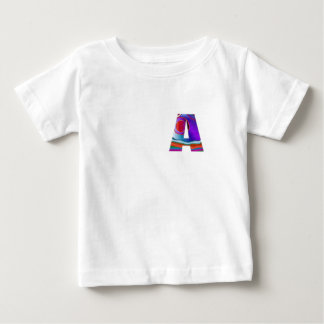 Gifts for friends names with Alpha A AA AAA fun 99 Baby T-Shirt