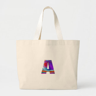 Gifts for friends names with Alpha A AA AAA fun 99 Jumbo Tote Bag