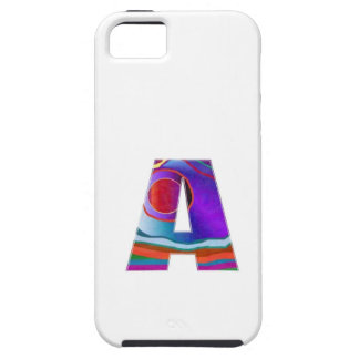 Gifts for friends names with Alpha A AA AAA fun 99 iPhone SE/5/5s Case