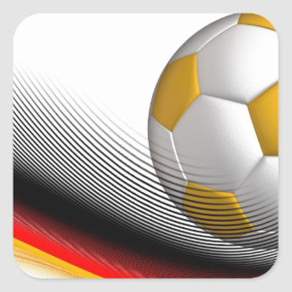 Gifts for German Football Soccer Lovers Square Sticker