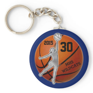 Gifts for Girls Basketball Team PERSONALIZED Keychain