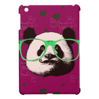 Gifts for Girls Cute Pandas Bears Personalized iPad Mini Cover