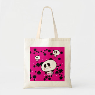 Gifts for Girls Cute Pandas Bears Personalized Tote Bag