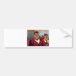 Gifts For Good Maasai Student Bumper Sticker