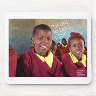 Gifts For Good Maasai Student Mouse Pad
