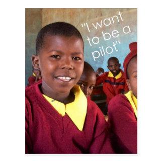 Gifts For Good Maasai Student Postcard