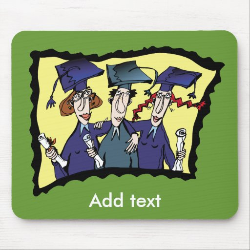 Gifts for Grads Mousepad