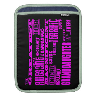 Gifts for Granddaughters : Greatest Granddaughter iPad Sleeve